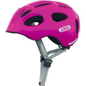 ABUS Youn-I Helmet sparkling pink